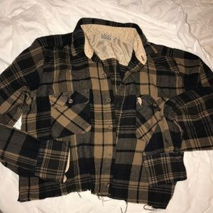 CROPPED FLANEL